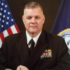US Navy Chaplain Wes Modder