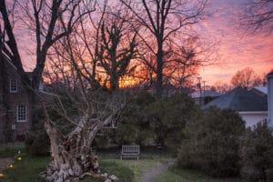 Sunrise Over the Beautiful Essex Inn in Virginia Where Freedom Alliance held a Family Retreat for Military Couples.