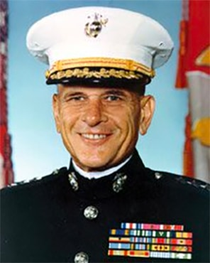 Lieutenant General Edward J. Bronars, USMC founded Freedom Alliance with LtCol Oliver North, USMC (Ret.) in 1990.
