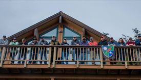 Wounded Veterans attend the Sitka Fishing Adventure in Alaska